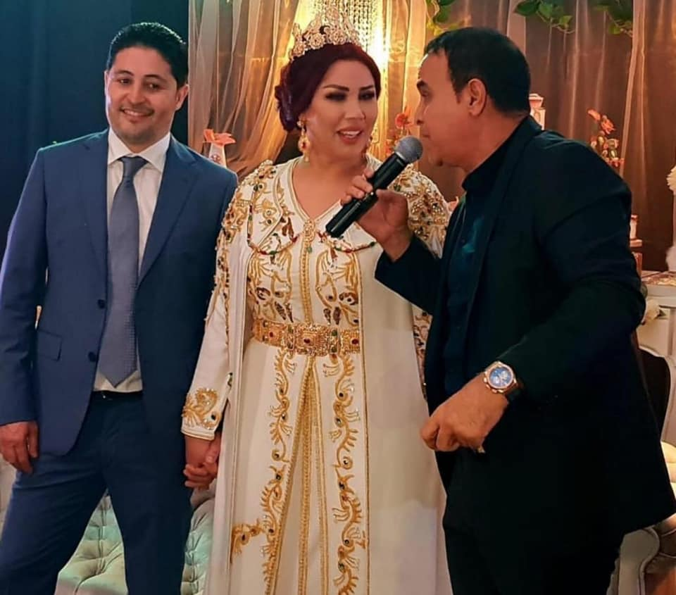 صور للمرة الثالثة سعيدة شرف تتزوج من جديد زنقة 20