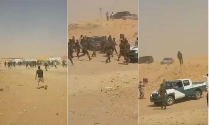 نايضة في مخيمات تندوف.. اعتقال ناشط معارض وتعذيبه أمام أسرته