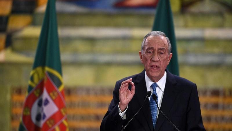"""Résultat de recherche d'images pour """"رئيس البرتغال في الحجر الصحي"""""""