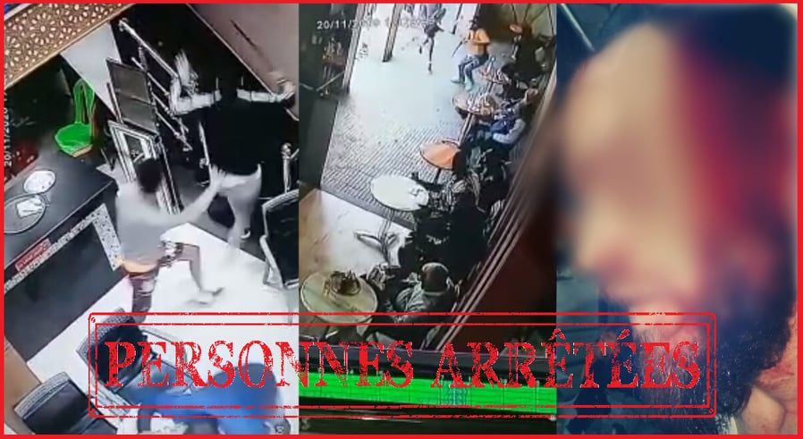 فرقة مكافحة العصابات تلقي القبض على مسلحين هاجموا مقهى بالرباط